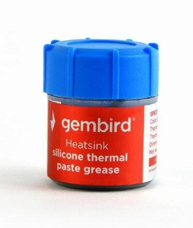 TG-G15-02 Gembird Termalna pasta 15gr za CPU/VGA SILVER, Therm.conductivity >4.63W/m-k
