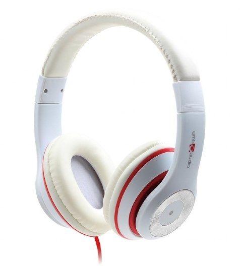 MHS-LAX-W Gembird Stereo slusalice sa mikrofonom ''Los Angeles'' white (1x3,5mm)