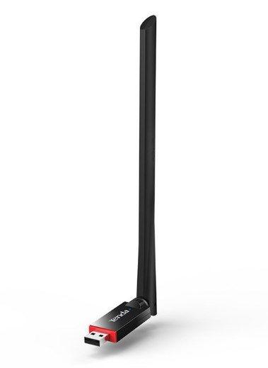 Tenda U6 Wireless N300 USB adapter antena 6dBi, 100mw(20dBm), WPS, softAP