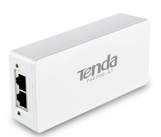 Tenda POE30G-AT POE adapter 802.3af.at 10/100/1000 injector, 30w, do100m