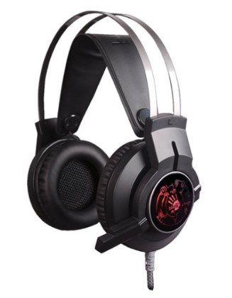 A4-G430 A4tech Bloody gejmerske slusalice sa mikrofonom, 40mm/32ohm, color LED, 2x3.5mmm+USB