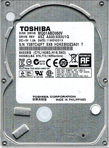 HDD 2.5'' ** 500GB  TOSHIBA 5400RPM 8MB 7mm SATA3 MQ01ABD050V