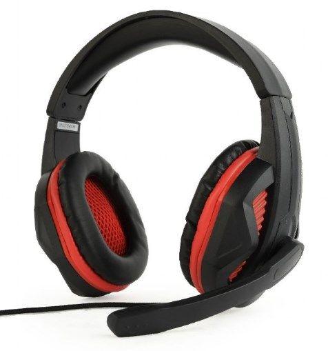 GHS-03 Gembird Stereo gejmerske slusalice sa mikrofonom+volume kontrolom matte black, 2x3.5mm