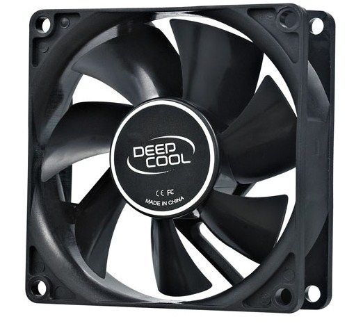 DeepCool XFAN80 80x80x25mm ventilator hydro bearing 1800rpm 21CFM 20dBa (144)