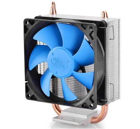 DeepCool ICEBLADE100 UNI kuler 95W 92mm.Fan +/-2200rpm 42CFM 31dBa LGA 1156/775/K8/FM/AM 2xpipes
