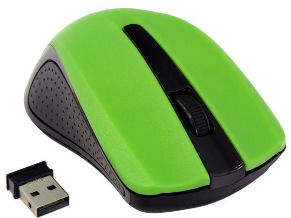 MUSW-101-G Gembird Bezicni mis 2,4Ghz opticki USB 1200Dpi green