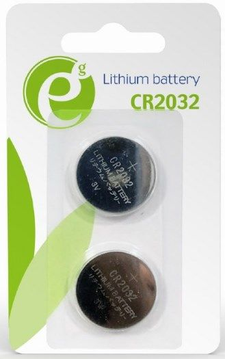 EG-BA-CR2032-01 ENERGENIE CR2032 Lithium button cell PAK2 (alt HQCR2032/5BL)