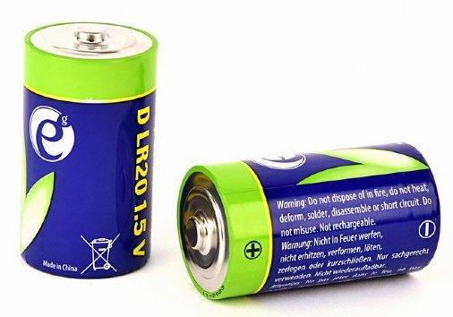 EG-BA-LR20-01 ENERGENIE TIP-D Alkalna baterija 1.5V PAK2