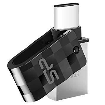 SiliconPower C31 * 16GB USB 3.1 + Type C SP016GBUC3C31V1K