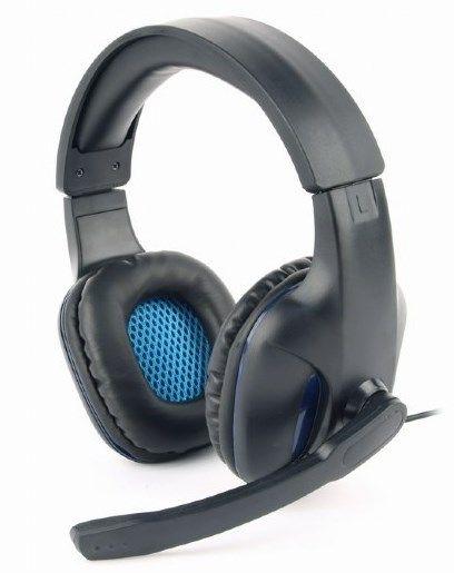 GHS-04 Gembird Stereo gejmerske slusalice sa mikrofonom+volume kontrolom black, 2x3.5mm