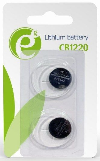 EG-BA-CR1220-01 ENERGENIE CR1220 Lithium button cell battery 3V PAK2