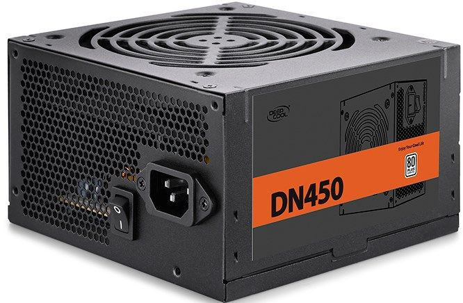 DeepCool DN450 * napajanje 450W 80PLUS, 1x20+4p, 1x 4+4p, 5xsata, 3x big4p 1xPCI-E6+2p, fan120mm