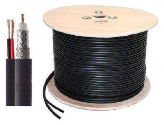 RG59+2X0.75 Koaksialni kabl sa napojnim kablom 305m