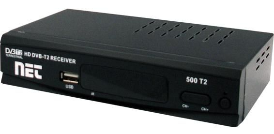 DVB-T2, NET 500 T2, Full HD Scart, HDMI Set-Top-Box