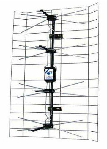 Antena ANT-408 - Spoljna mreasta sa pojacalom, 15-32db, UHF/VHF/DVB-T2