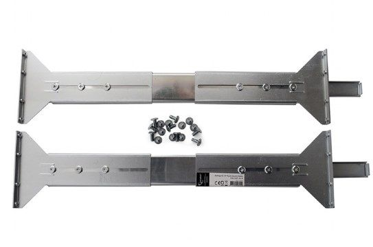 19CC-4U-R Gembird Railings19'' Rack-mount chassis (19CC-4U-001), set of 2 pieces (left+right sides)