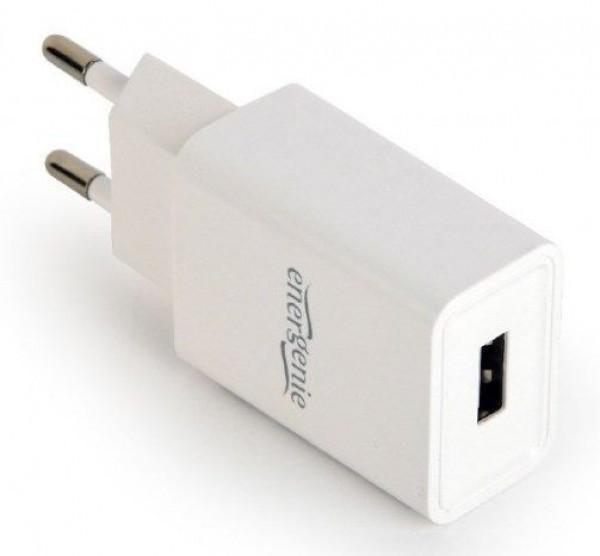 EG-UC2A-03-W Gembird Universal USB charger, 2.1 A, white