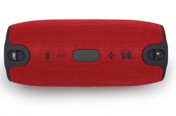 SPK-BT-06-R Gembird Portable Bluetooth speaker with powerbank function, red