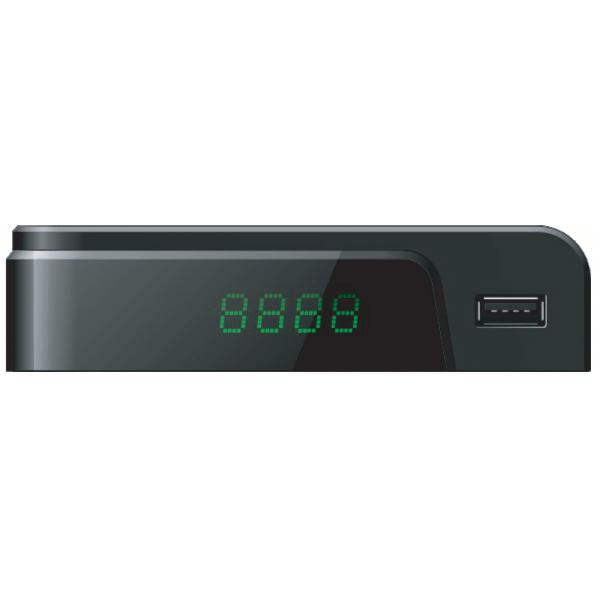 DVB-T2/C, REDLINE T10 HD Cable Prijemnik zemaljski, Full HD, H.264