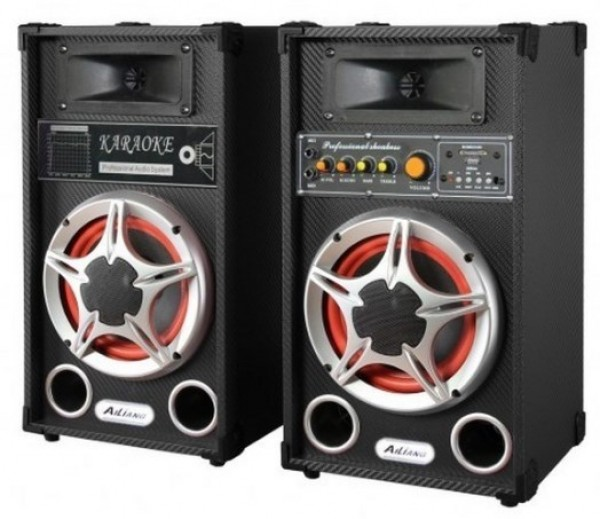 Ailiang M82-DT 80W 2.0 zvucnici FM/SD/USB/Bluetooth Zvucnici, Karaoke