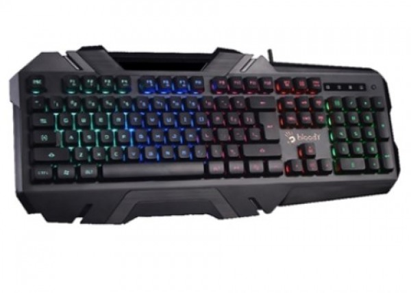 A4-B150N A4Tech Bloody Gejmerska svetleca tastatura(5-zone NEON LED), black, USB,US layout