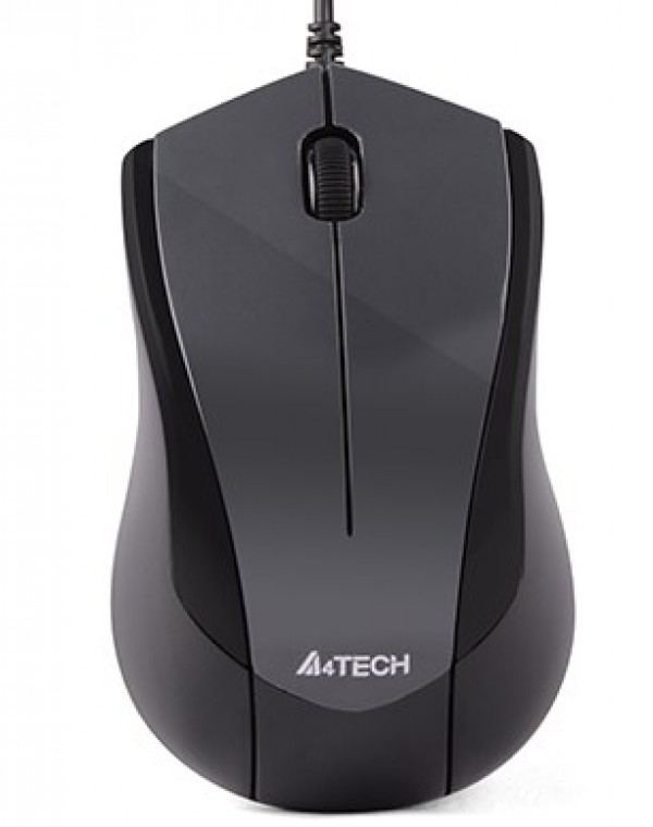 A4-N400-1 A4Tech opticki mis 1000dpi, Black USB