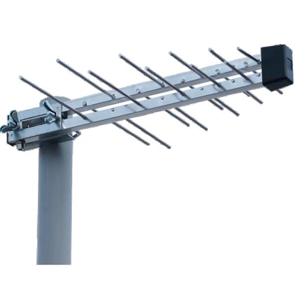 Antena Loga UHF sa F-Konektorom P-20 DTT, duina 44cm, dobit 7.5dB