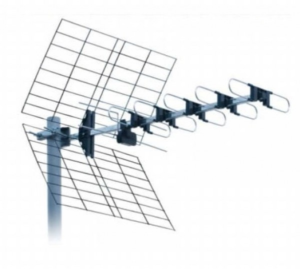 Antena DTX-22F Spoljna 22 elementa, F/B ratio 28db, duina 81cm UHF/VHF/DVB-T2