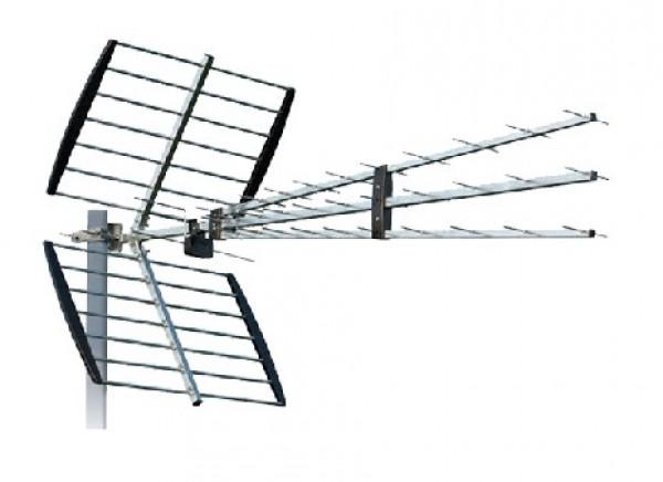 Antena P-47N TRIPLEX Spoljna 11-17db, Loga 47 elemeneta UHF/VHF/DVB-T2