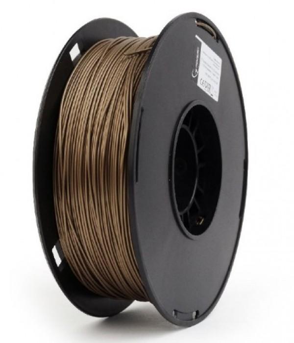 3DP-PLA+1.75-02-GL PLA-PLUS Filament za 3D stampac 1,75mm kotur 1KG GOLD Metal