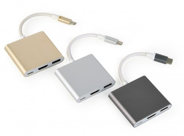 A-CM-HDMIF-02-MX Gembird USB type-C - HDMI multi-adapter