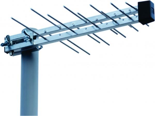Antena M2000 Midi RF Konektor Spoljna 20-30db TV loga, 44cm, UHF/VHF/DVB-T2
