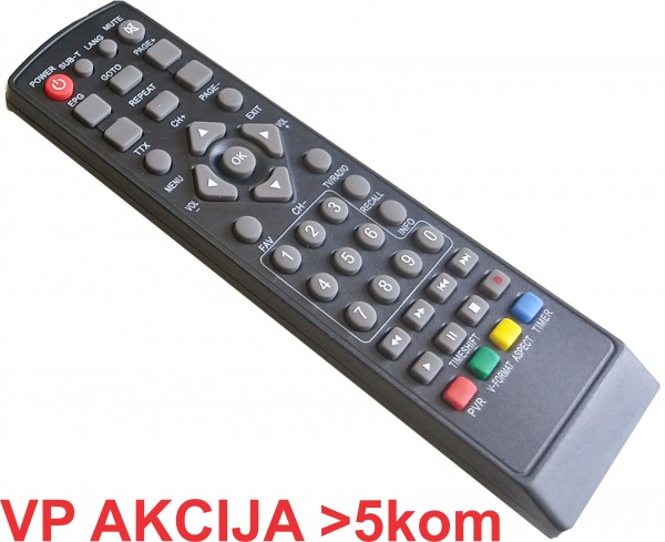 GMB-T2-DALJINSKI ** upravljac za SET TOP BOX, remote controller for GMB-T2-404 (175)