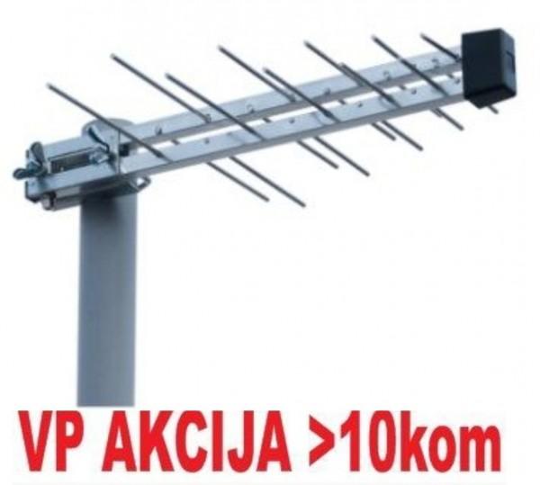 Antena M2000 Midi ** Spoljna 20-30db, Loga, 44cm, UHF/VHF/DVB-T2 (296)