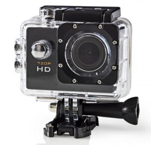 x-ACAM10BK Nedis HD action kamera, 2''/ HD720p/ 30M sa vodootpornim kucistem