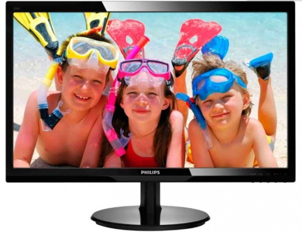 Monitor 24'' Philips 243VLHAB/00, LED, 1920x1080 (Full HD) 1ms, VGA/DVI/HDMI Zvuenici