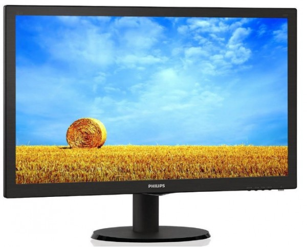 Monitor 22'' Philips 223V5LSB2/10, LED, 1920x1080 (Full HD), 5ms, VGA