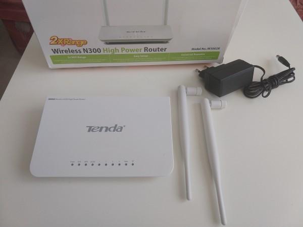OUT - Tenda W3002R Wireless N300 High Power Ruter/AP Repeater 4L/1W detachable antena 2x5dBi