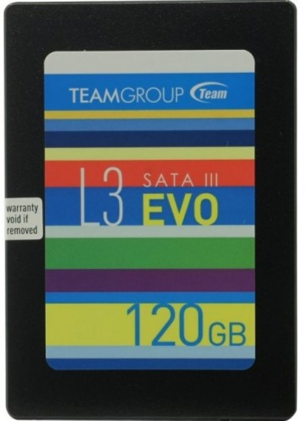 TeamGroup 2.5'' 120GB  SSD SATA3 L3 EVO 7mm 500/360MB/s T253LE120GTC101