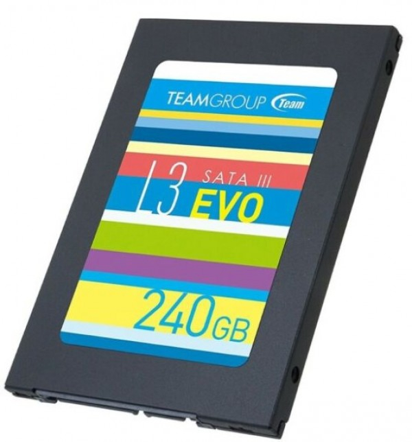 TeamGroup 2.5'' 240GB SSD SATA3 L3 EVO 7mm 500/430MB/s T253LE240GTC101