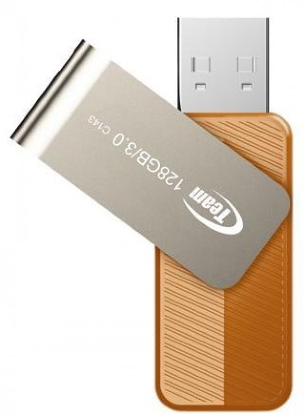 TeamGroup * 128GB C143 USB 3.0 BROWN TC1433128GN01 (1614)