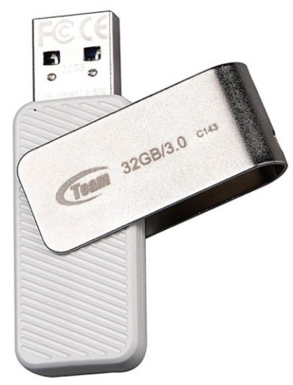 TeamGroup C142 32GB USB 2.0 WHITE TC14232GW01