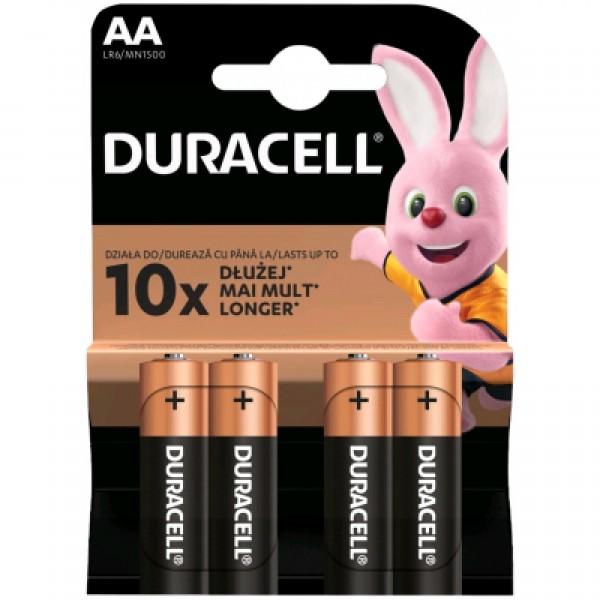 Duracell AA 1.5V LR6 MN1500, PAK4 CK, ALKALNE baterije duralock