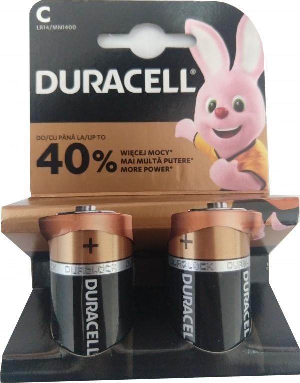 Duracell Tip C 1.5V LR14 MN1400, PAK2 CK, ALKALNE baterije