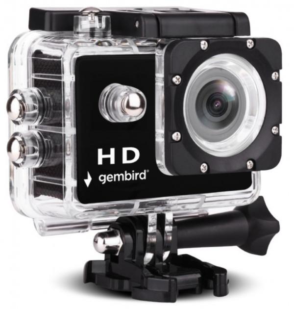 ACAM-04 Gembird HD action kamera, 2''/ HD1080p/ sa vodootpornim kucistem