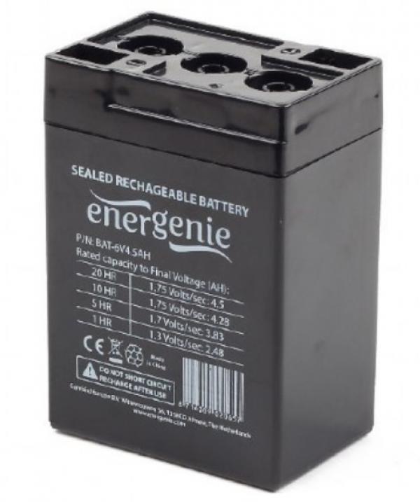 BAT-6V4.5AH Gembird Punjiva baterija 6V 4.5AH 70x47x101mm