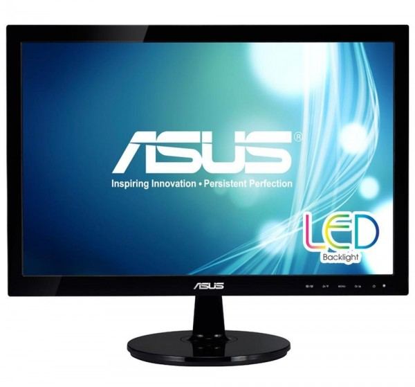 Monitor 18.5'' ASUS VS197DE, LED 1366x768, (HD Rerady) 5ms, VGA, BLACK