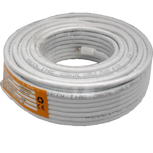 kabl-Koaksialni C-30  RG6/90db indoor white - 30m