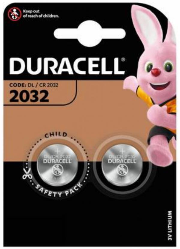 Duracell 2032 LITHIUM 3V PAK2 CK baterije dugme