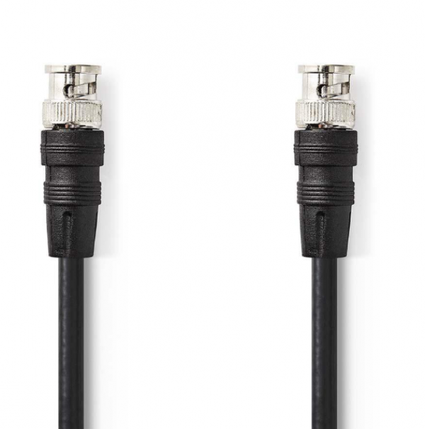 CVGP01000BK50 * BNC Video Cable, BNC Male - BNC Male, 5.0m Black (197)